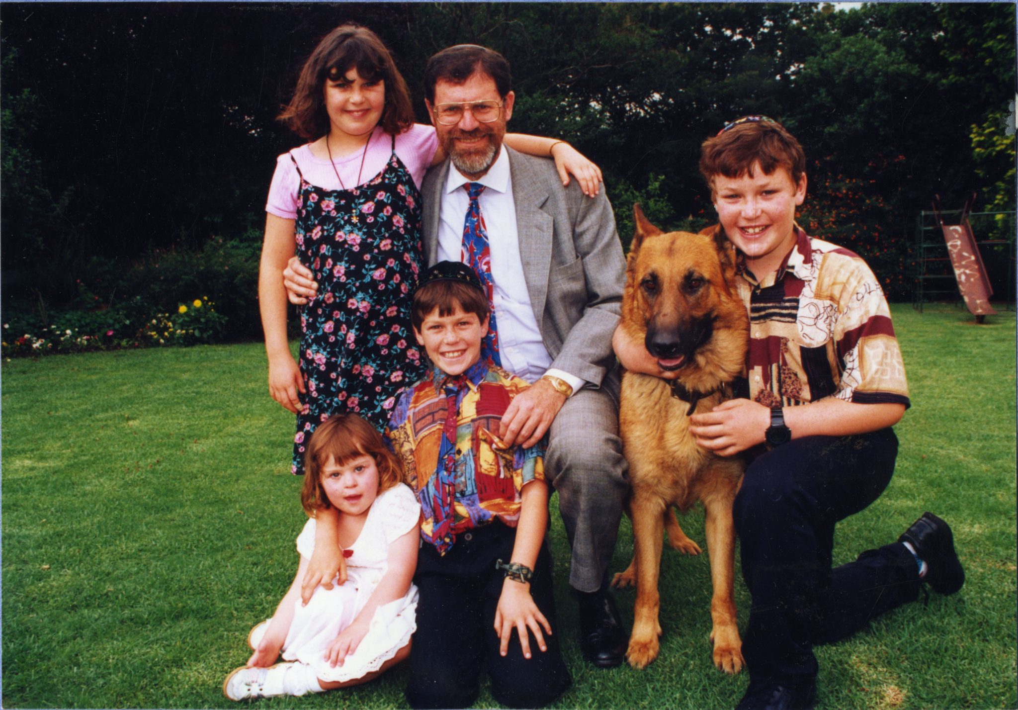 Charney family in 1994