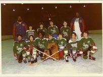 Alan Simmon's hockey team
