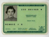 South African identity card