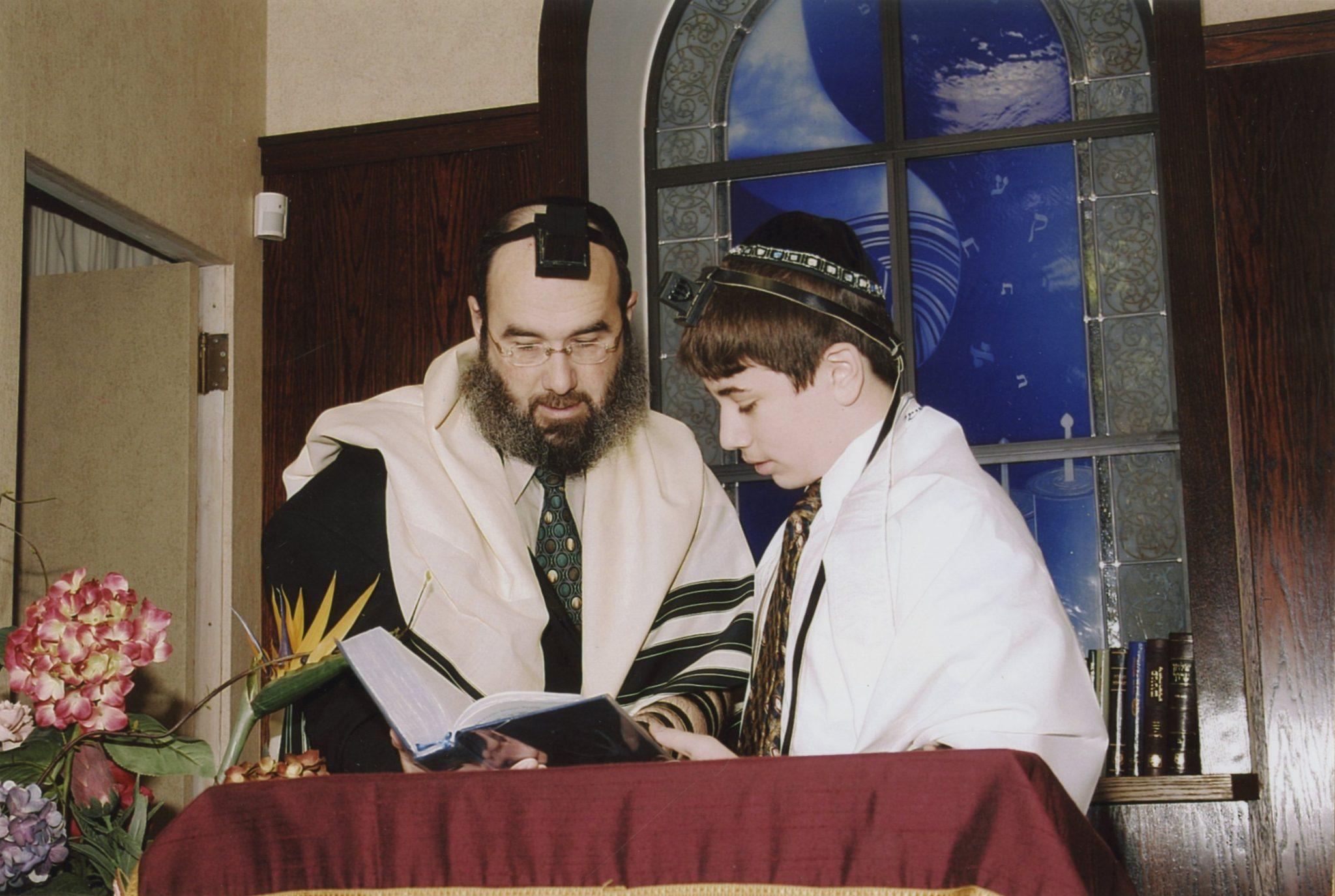 Samuel's bar mitzvah