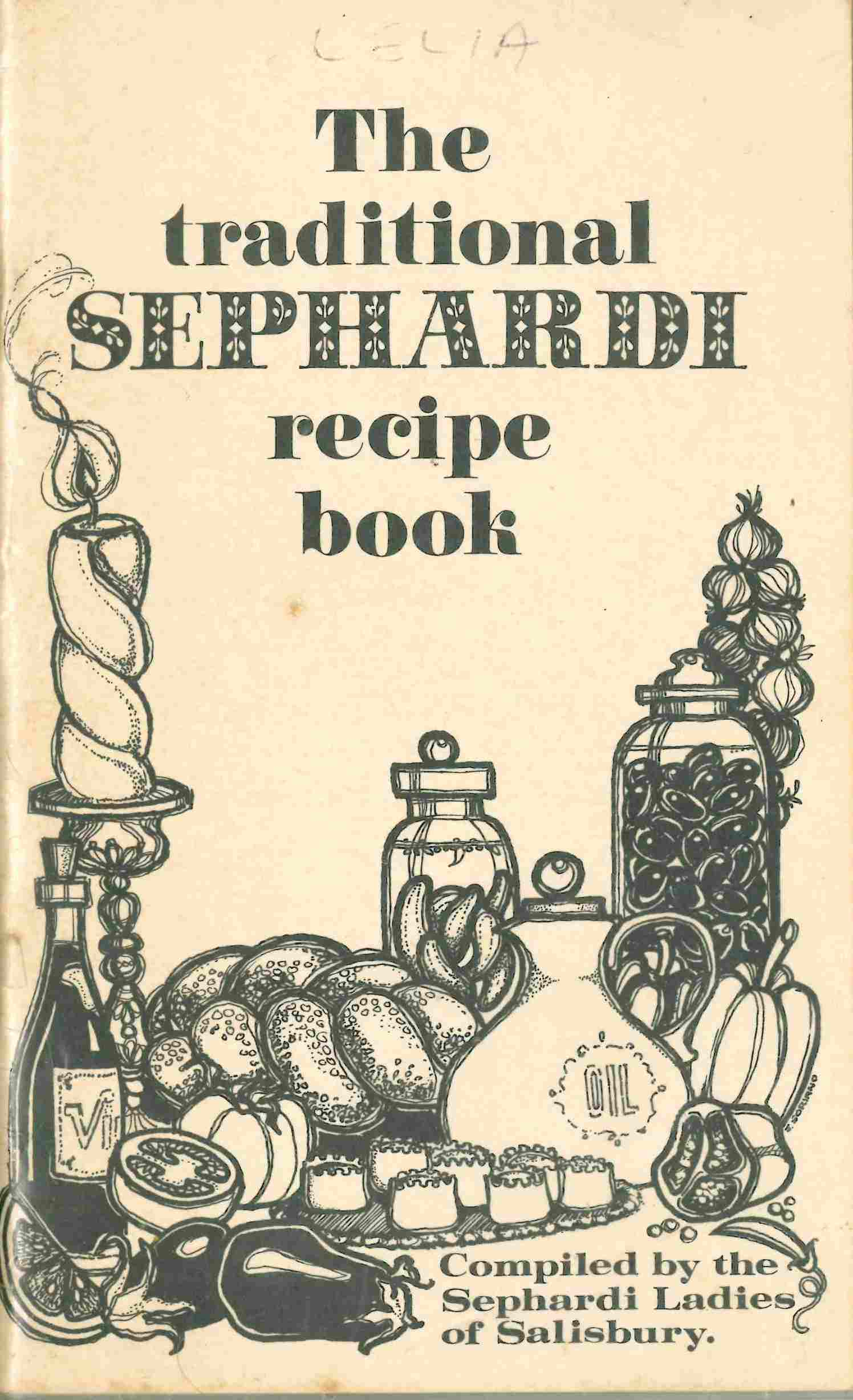 The Traditional Sephardi recipe book