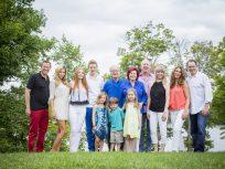 Krawitz family in Muskoka