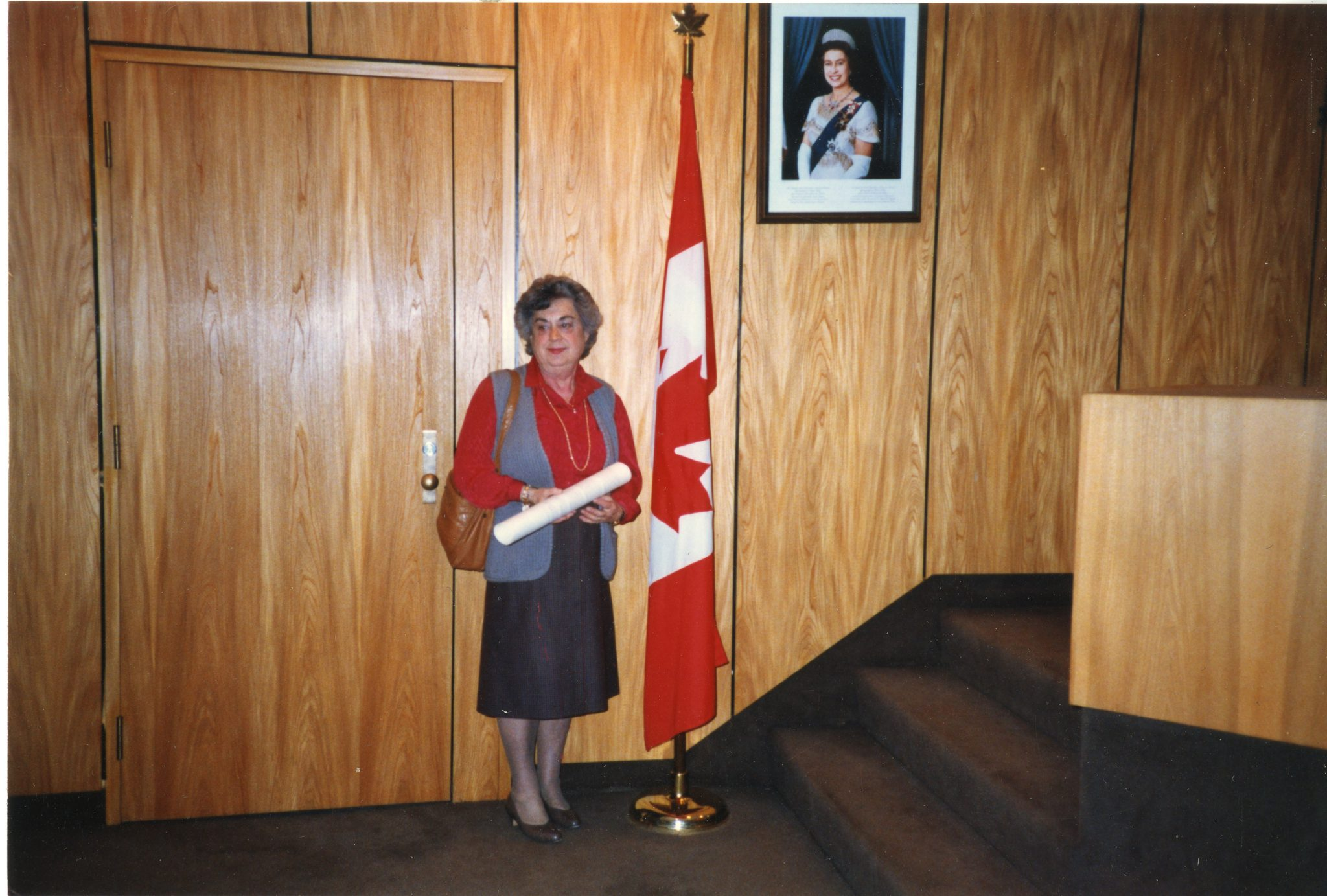 Canadian citizenship ceremony