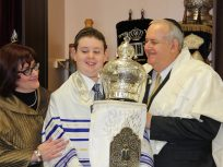 Joey's bar mitzvah